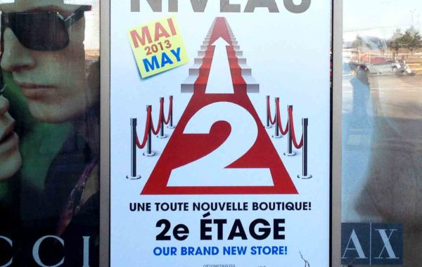 Affiche – Optique Laurier